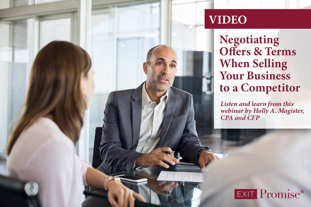 Negotiating Offers and Terms When Selling Your Business