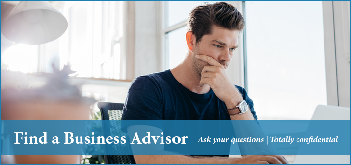 find a business advisor exit promise
