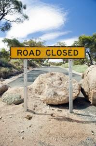 Selling a Business Roadblock
