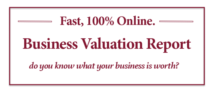 business valuation tool