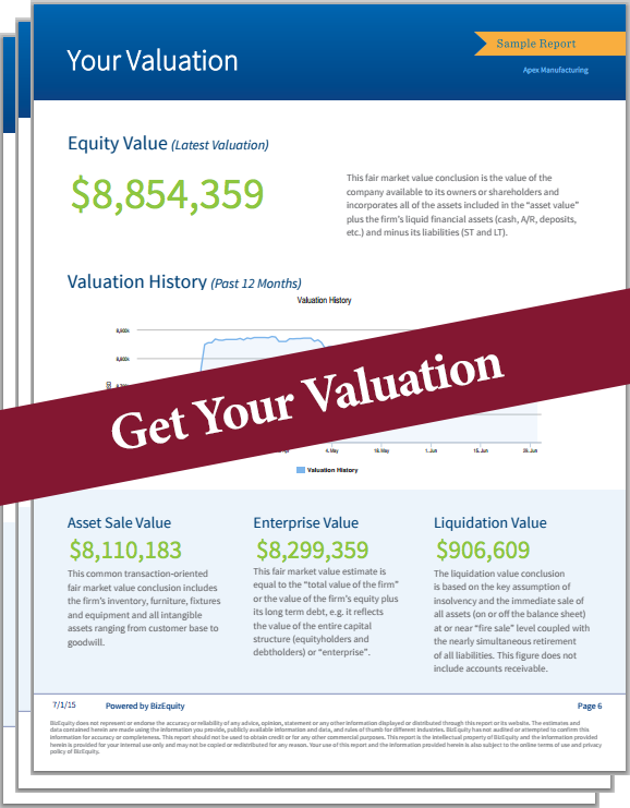 Online Valuation Tool