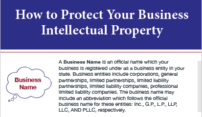 How to Protect Your Business Intellectual Property [Infographic]