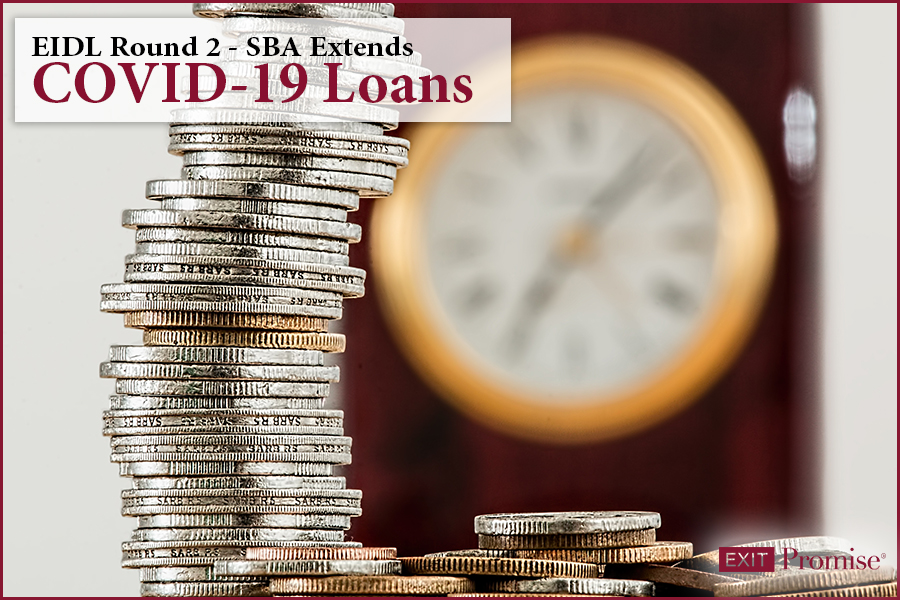 EIDL Round 2 — SBA Extends Covid-19 Loans Again