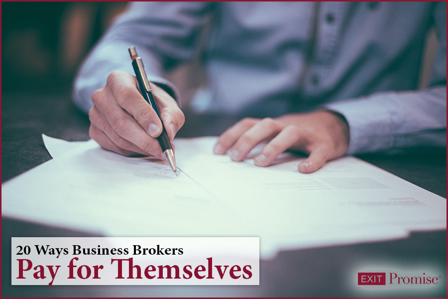 20 Ways Business Brokers Pay for Themselves